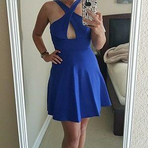 NWOT Lulus Criss Cross Dress